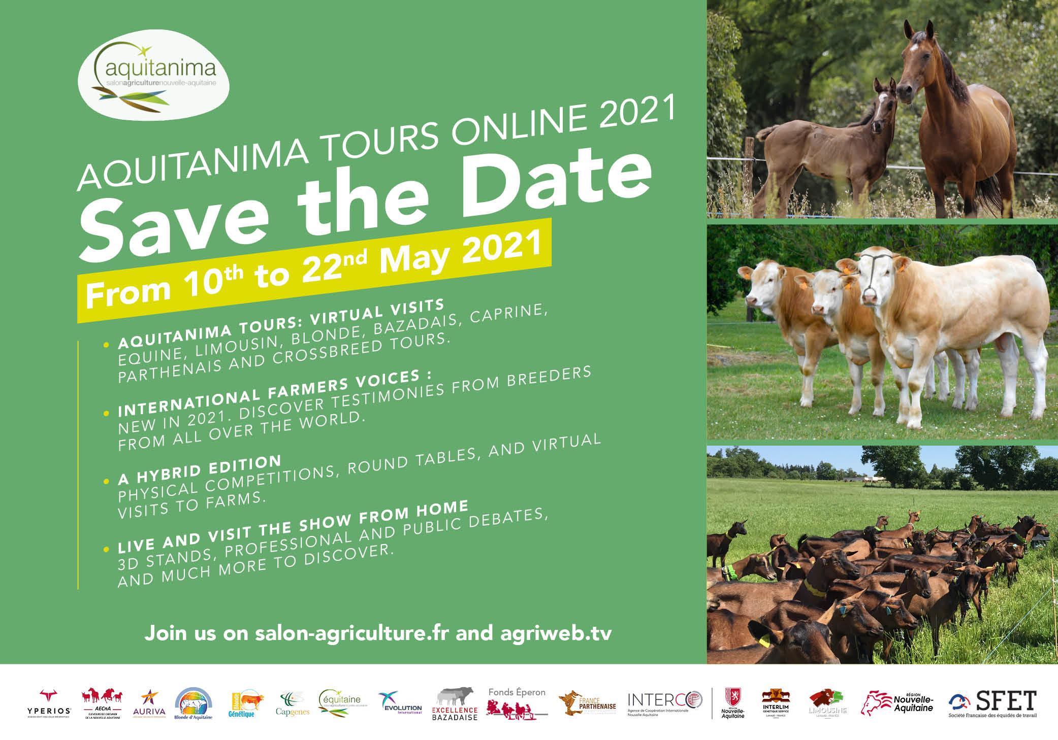 Aquitanima Tours Online 2021 Serie