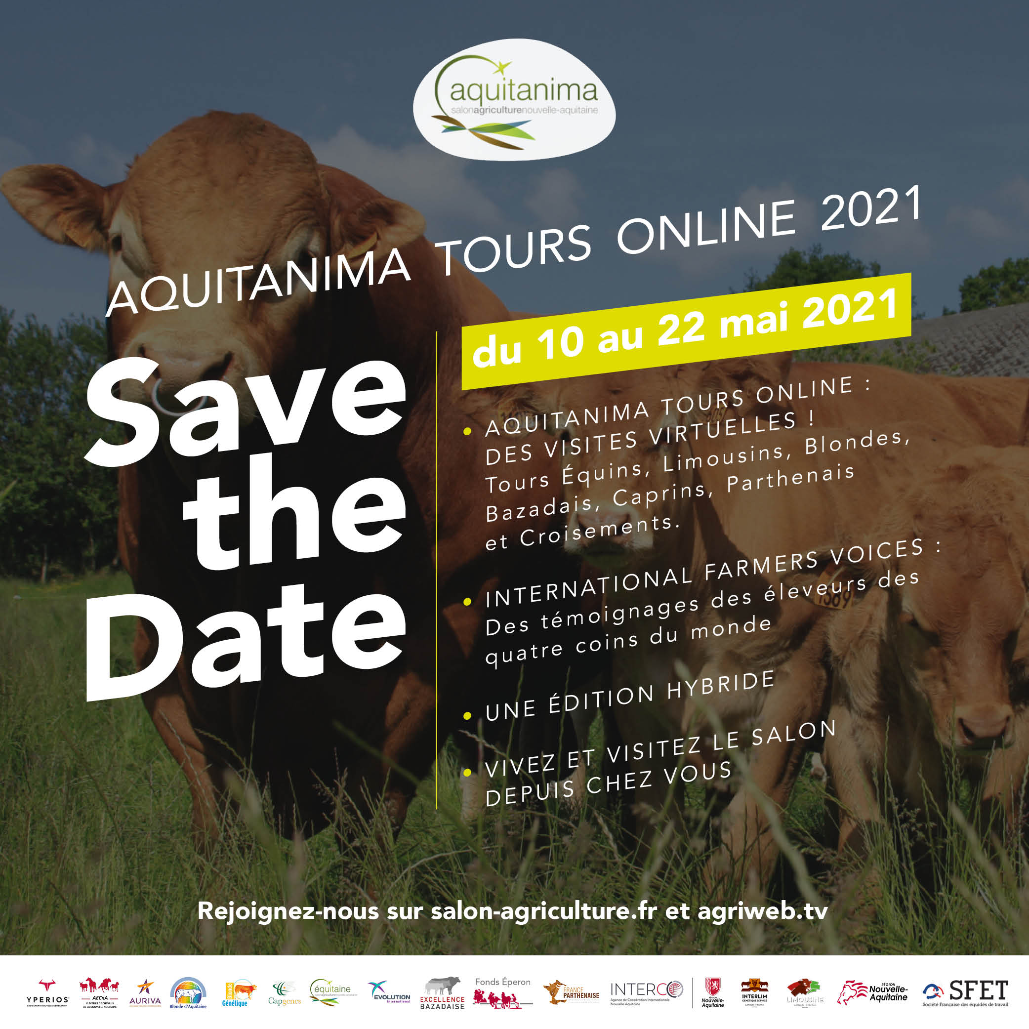 Programme: Aquitanima Tours Online 2021