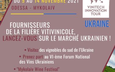 SAVE THE DATE : Vinitech-Innovation Tour UKRAINE